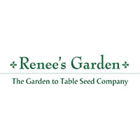 Many of the seeds grown by the garden were donated by Renee's Garden Seeds.