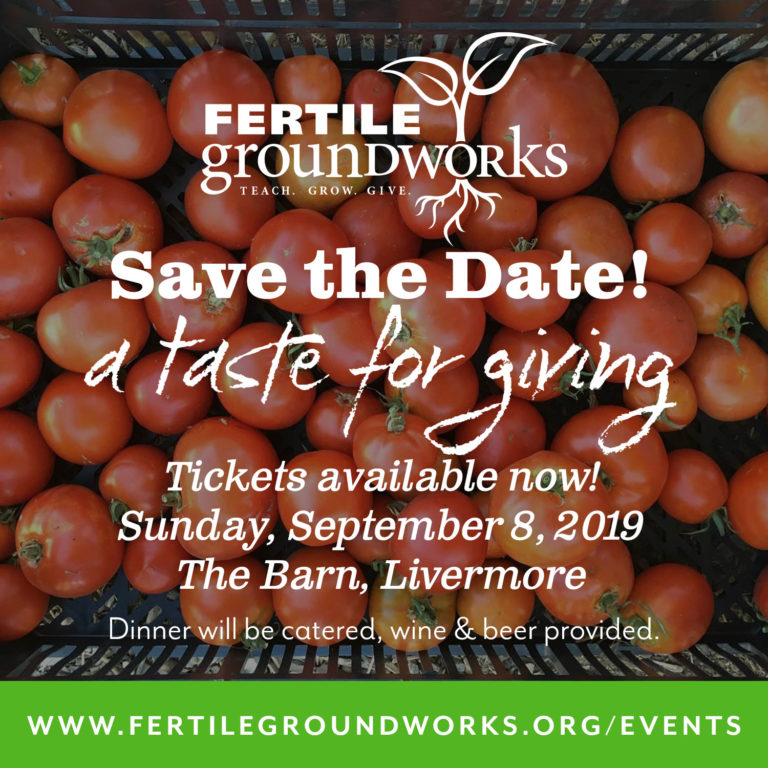Save the Date: Fertile GroundWorks Fundraiserr