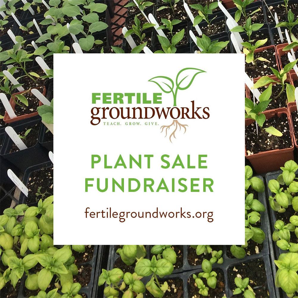 Plant Sale Fundraiser